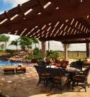 South Texas Ranch Pergola