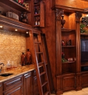 Secret Ladder and Wine Storage