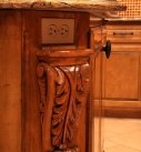 Kitchen hidden outlet