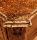 Kitchen Marble Island Detail
