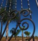 Entry Rod Iron Gate