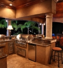 South Texas Ranch Outdoor Kitchen